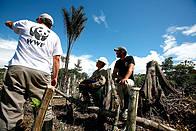 WWF Staff working / ©: Brent Stirton / WWF
