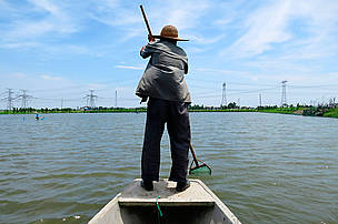 Fish farmer Ma Gencai