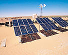 Solar panels, Tunisia