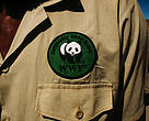 WWF Community Game Guard badge, Kunene Province, Namibia