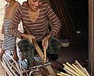 After the tour, the villagers had many new ideas about rattan production