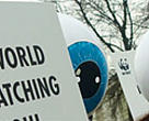 WWF campaigning at the UN Climate Change Conference, Poznan, Poland, December 2008.