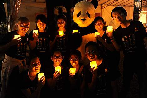 Earth Hour, Singapore / ©: WWF Singapore