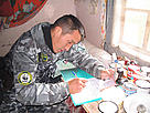 A WWF supported anti-poaching inspector in the Russian Arctic. / &copy;: WWF-Russia