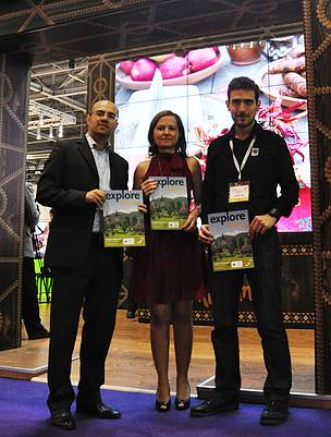 WWF and Explore Travel present the joint Maramures ecotourism tour at World Travel Market in London