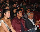 WWF Young Conservation Ambassador, Miss Nepal 2013 Ishani Shrestha and WWF Nepal's Goodwill Ambassador Mr Rajesh Hamal at the celebration  of International Mountain Day 2013.