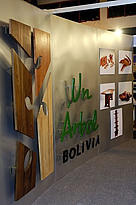 Stand at the 4th Bolivian Tropical Forest Trade Fair, Expoforest, in March, 2006, publicly ... / &copy;: WWF-Canon / Andrs UNTERLADSTAETTER