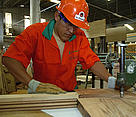 Worker at La Chonta timber company (member of Bolivia FTN  Forest and Trade Network).