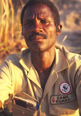 WWF sponsored Community Game Guards, Caprivi, Namibia. / &copy;: WWF-Canon / John E. NEWBY