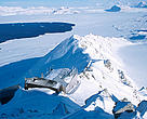 NILU-scientists monitor numerous atmospheric gases from the Zeppelin Observatory on the arctic island of Spitsbergen.