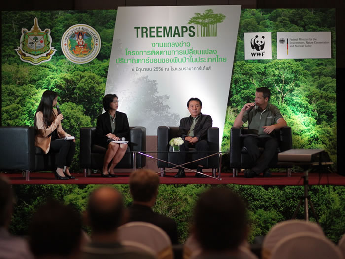 TREEMAPS project launch event in Bangkok